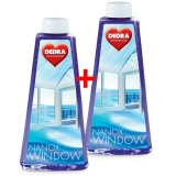 Dedra  Nanox window 1+1 čistič na okna  500 ml + 500 ml