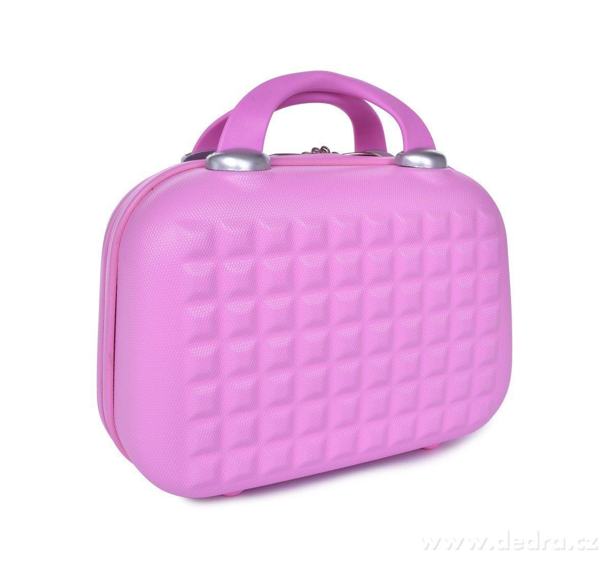 Dedra Kufr příruční menší Pastel pink 30 x 15 x 21 cm