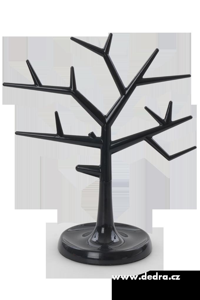 Stojan na šperky strom černý Dedra