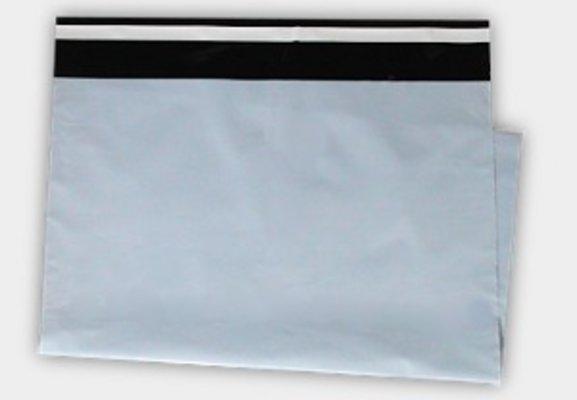100ks Plastová obálka A4+ 270x350+50mm klopa