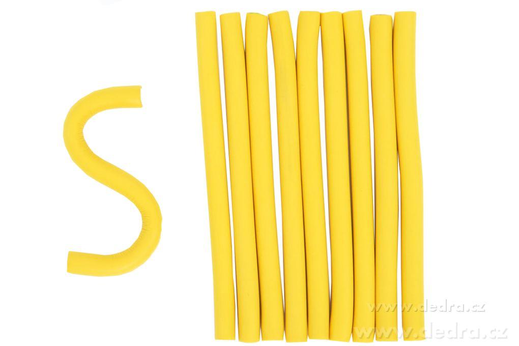 Dedra Ohebné natáčky na vlasy - papiloty pr.:10 mm,d.:155 mm 10 ks