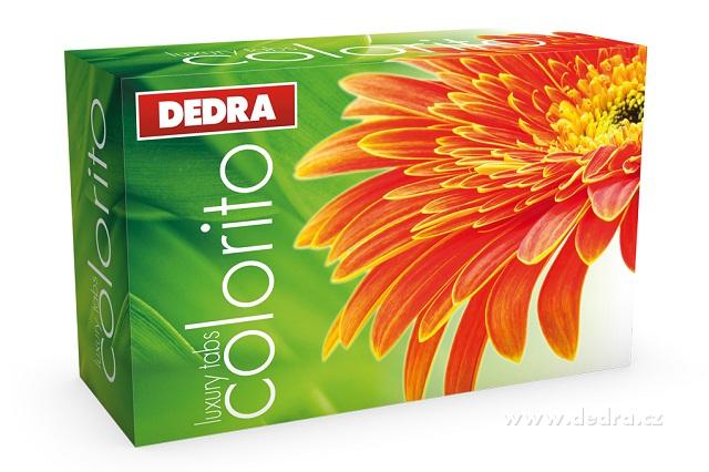 DEDRA COLORITO prací tablety 25 tablet