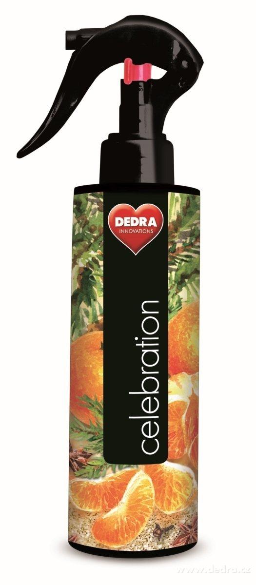 Dedra Parfum air&textiles celebration osvěžovač vzduchu 250 ml