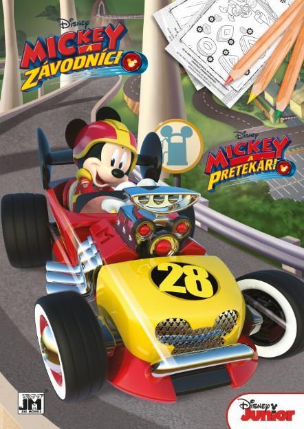 Jiri Models Omalovánky A4 Mickey Mouse