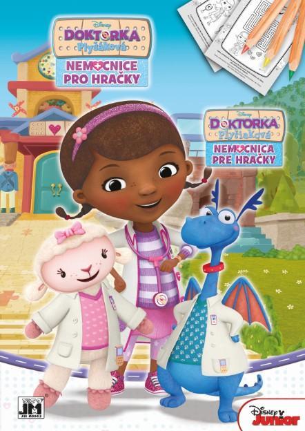 Jiri Models Omalovánky A4 Doktorka Plyšáková Nemocnice pro hračky