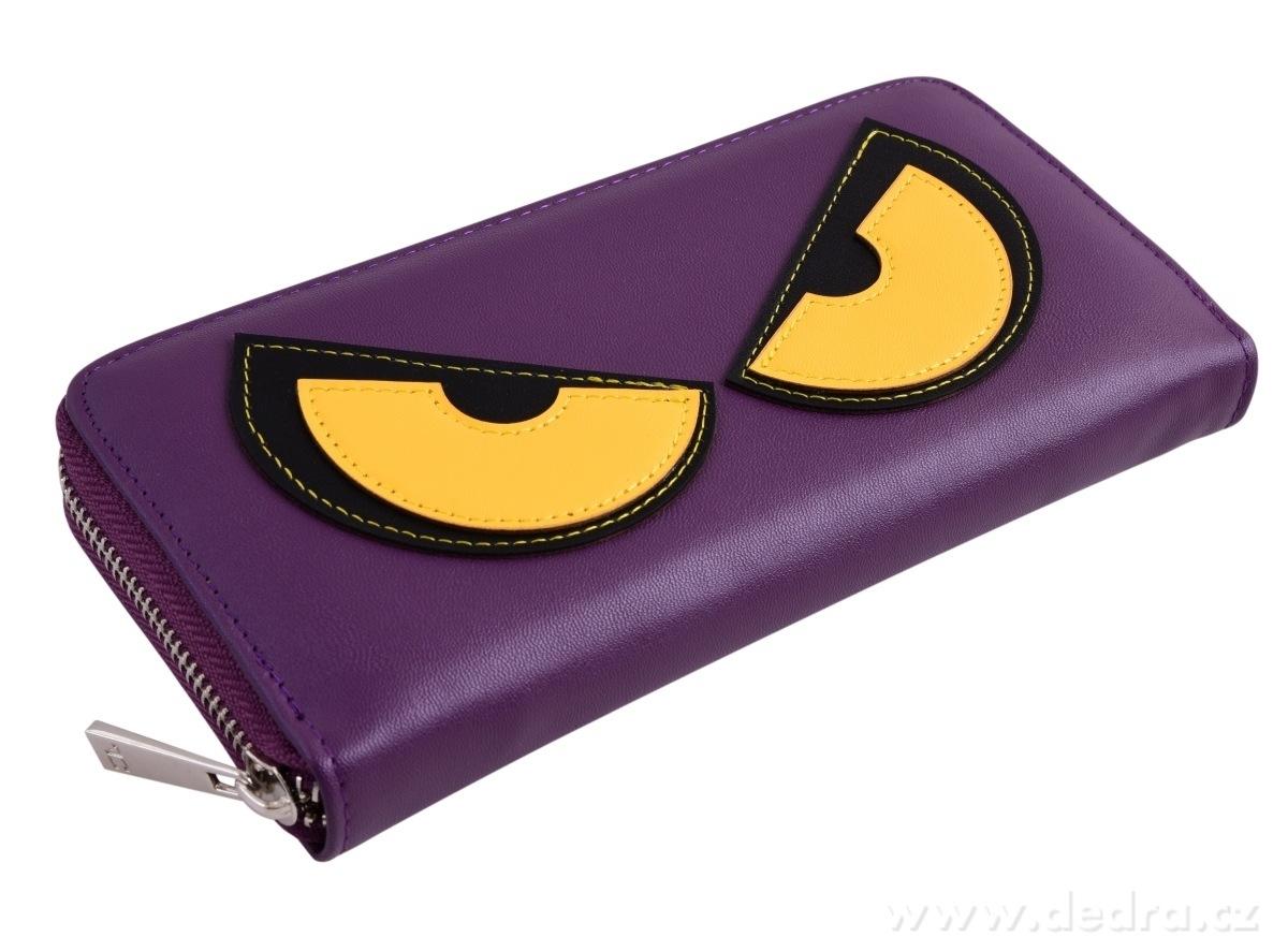 Dedra Peněženka Rebelito z ekokůže purple