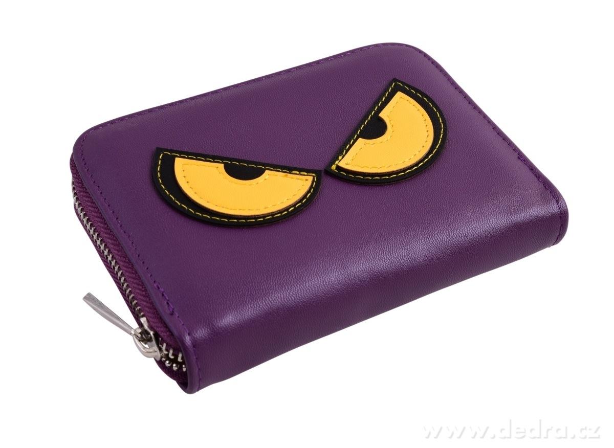 Dedra Peněženka Rebelito z ekokůže purple small