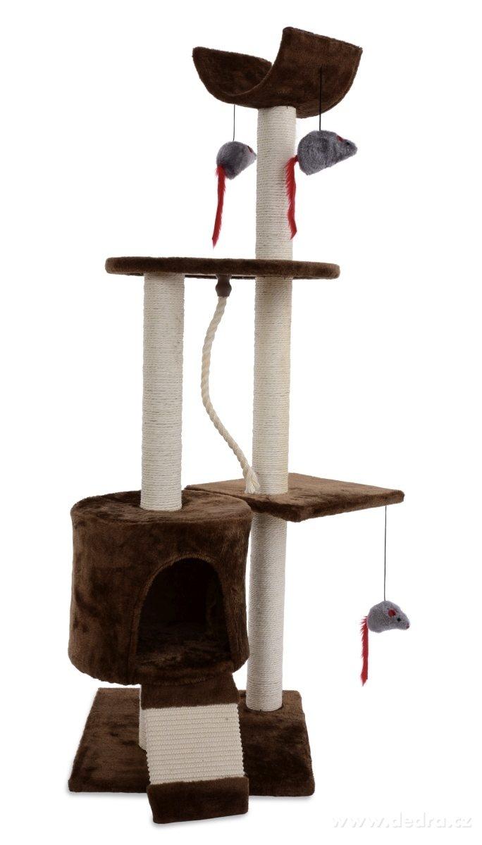 Dedra XL kočičí škrabadlo /prolézačka výška 122 cm