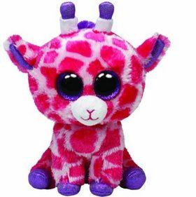 Plyšové okaté zvířátko žirafa