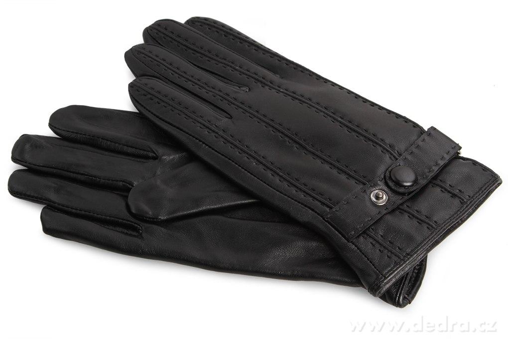 Dedra ELDON pánské rukavice kožené s funkčním páskem