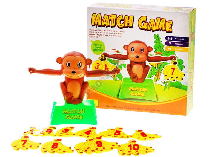 Matematická hra Opičko zvaž to!