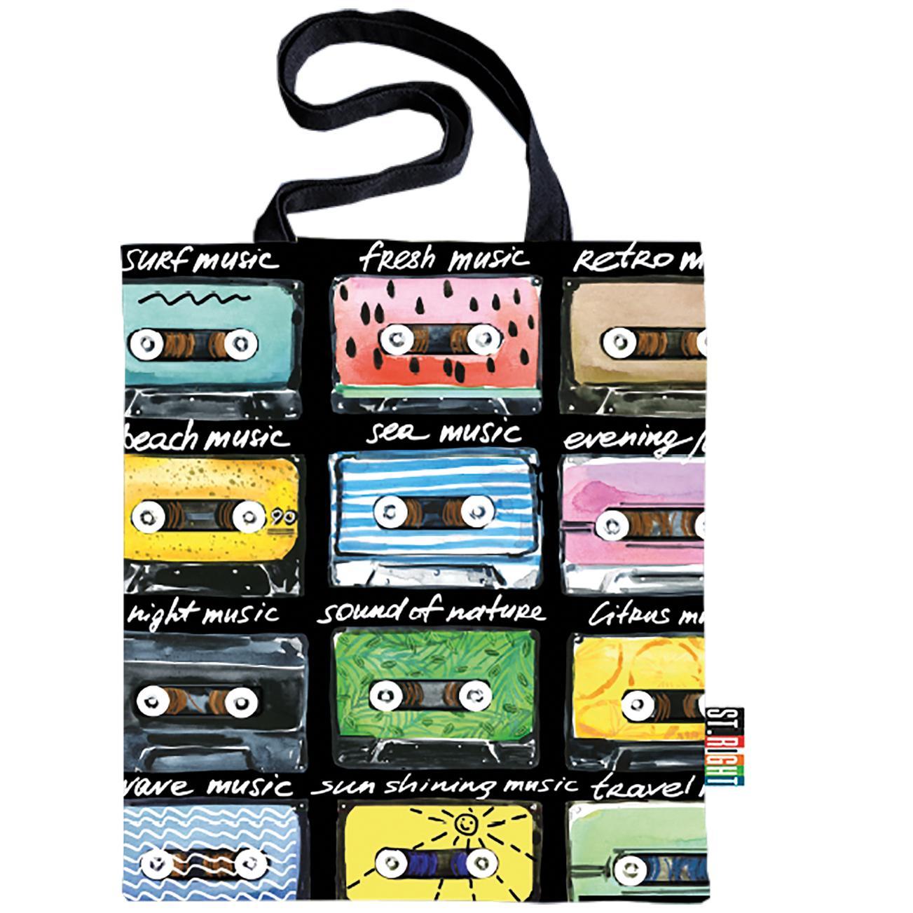 Velká textilní taška St.Right Cassettes