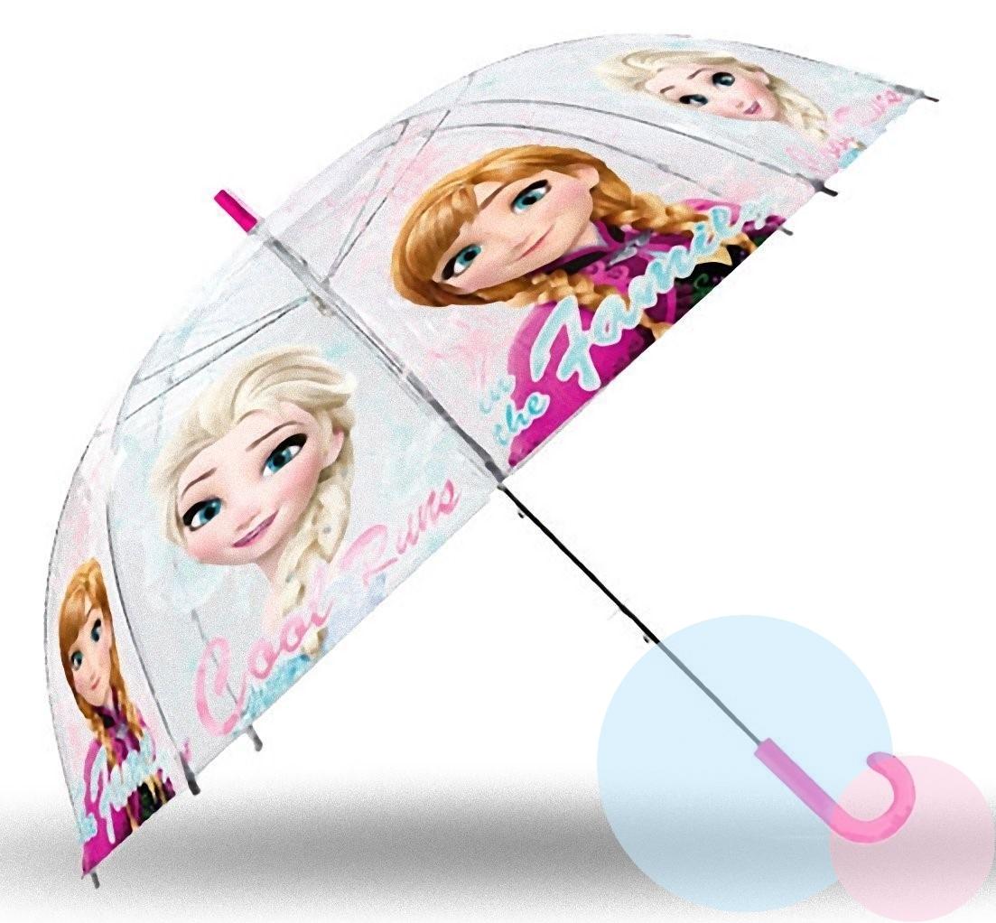 Euroswan Dětský průhledný deštník Ledové království, Frozen