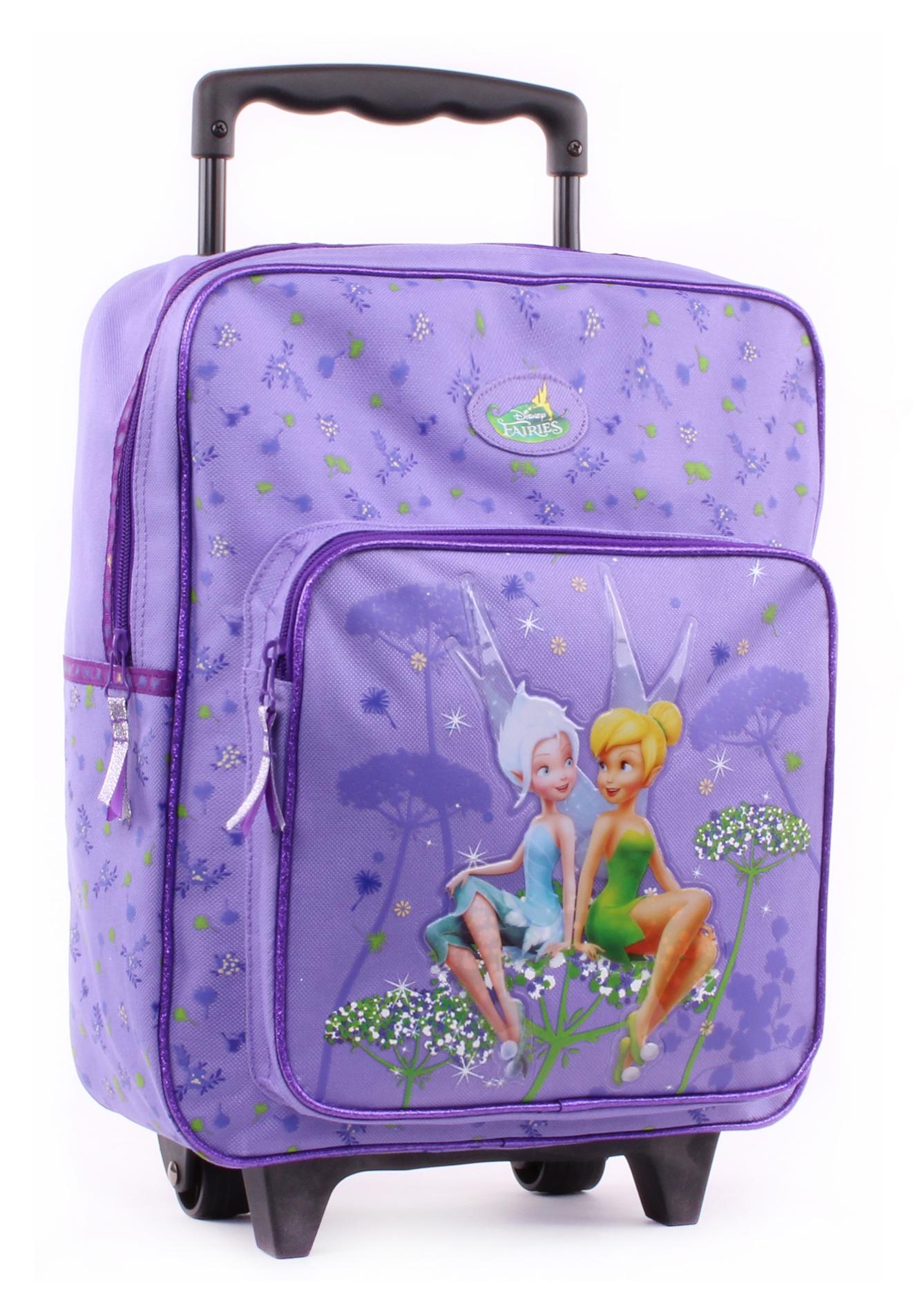 Vadobag Cestovní batoh na kolečkách Zvonilka, Fairies