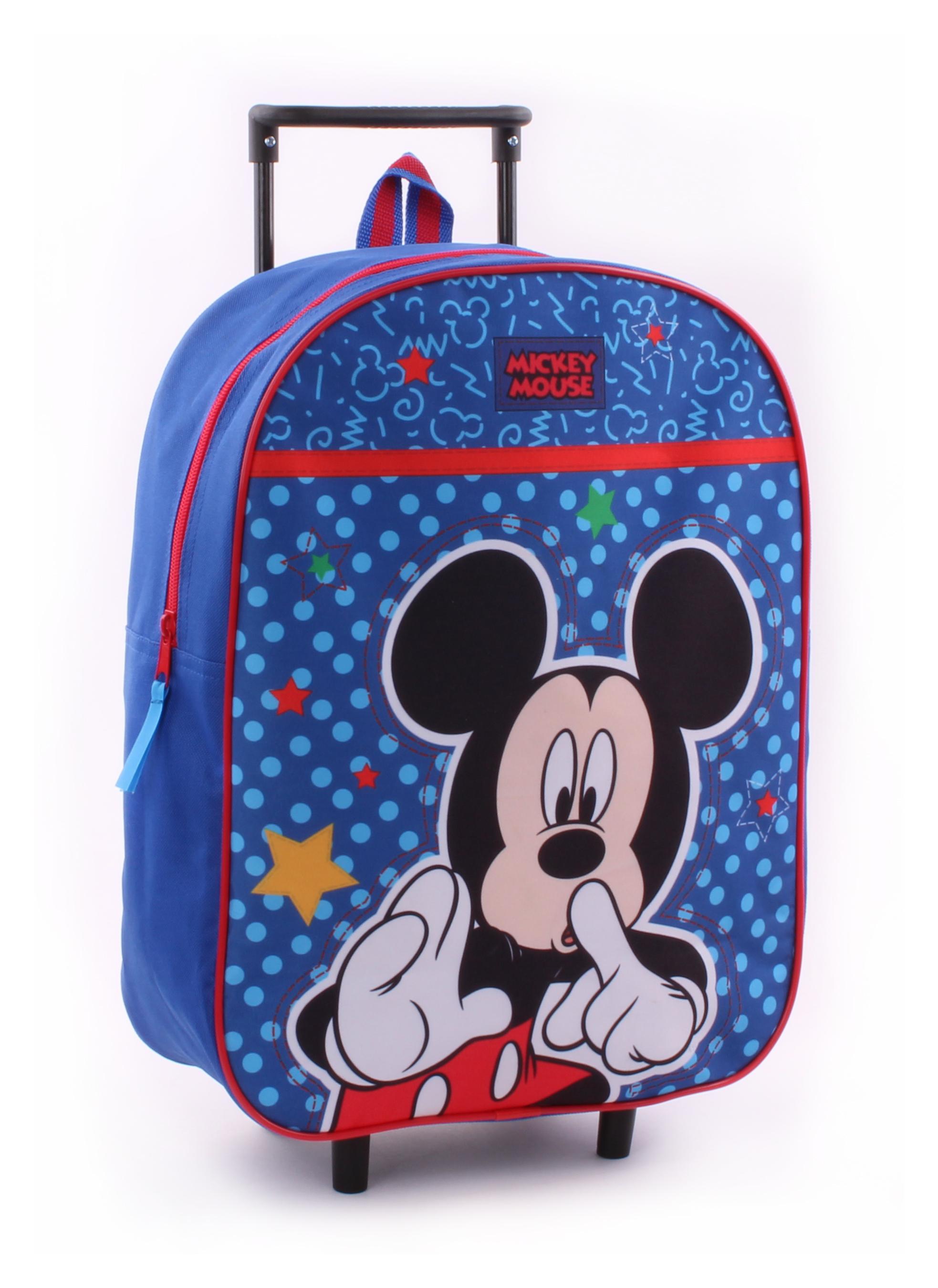 Vadobag Kufřík na kolečkách Mickey Mouse
