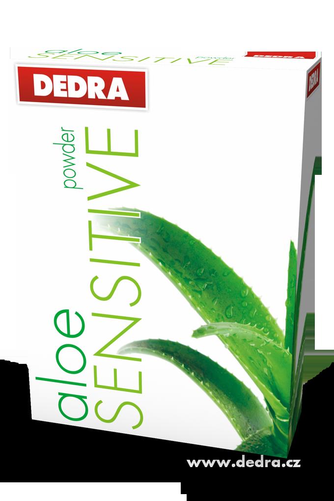 Dedra aloeSensitive 1,25kg pro citlivou pokožku koncentrovaný , prací prášek