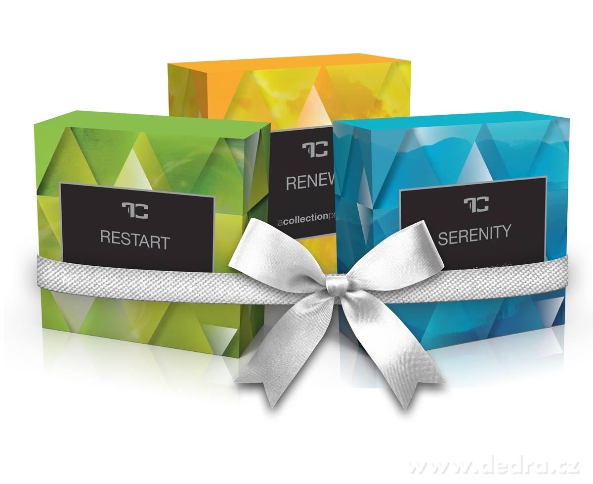 Dedra 2+1 GRATIS glycerinová mýdla Serenity + Renew + Restart