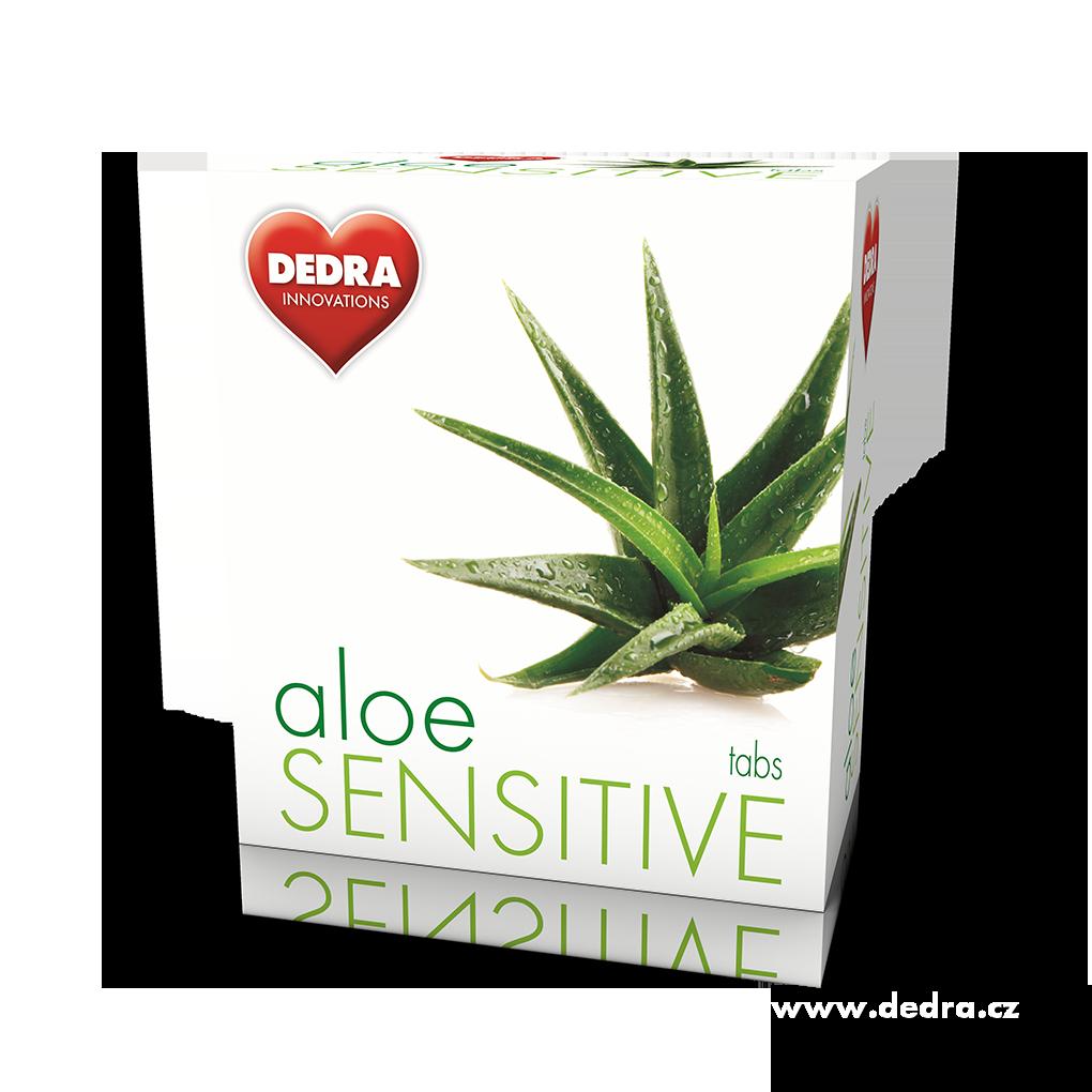 Dedra AloeSENSITIVE 25tabs pro citlivou pokožku prací tablety
