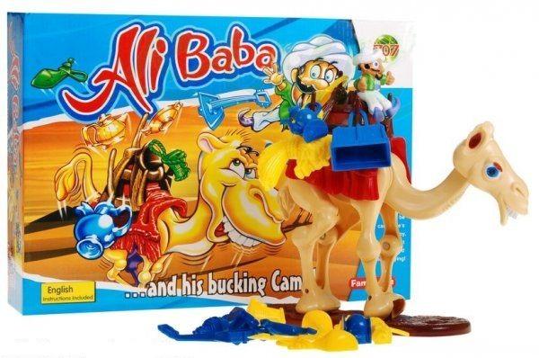 Alibaba a jeho mrzutý velbloud - dovednostní akční hra