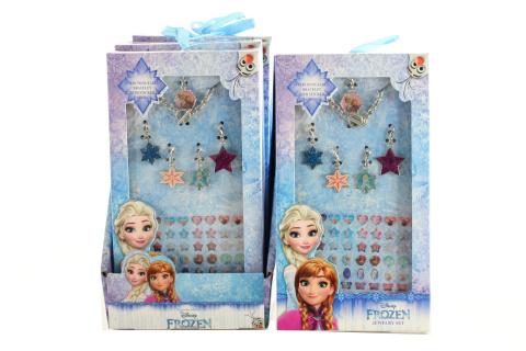Náramek s přívěsky a nálepkami Frozen