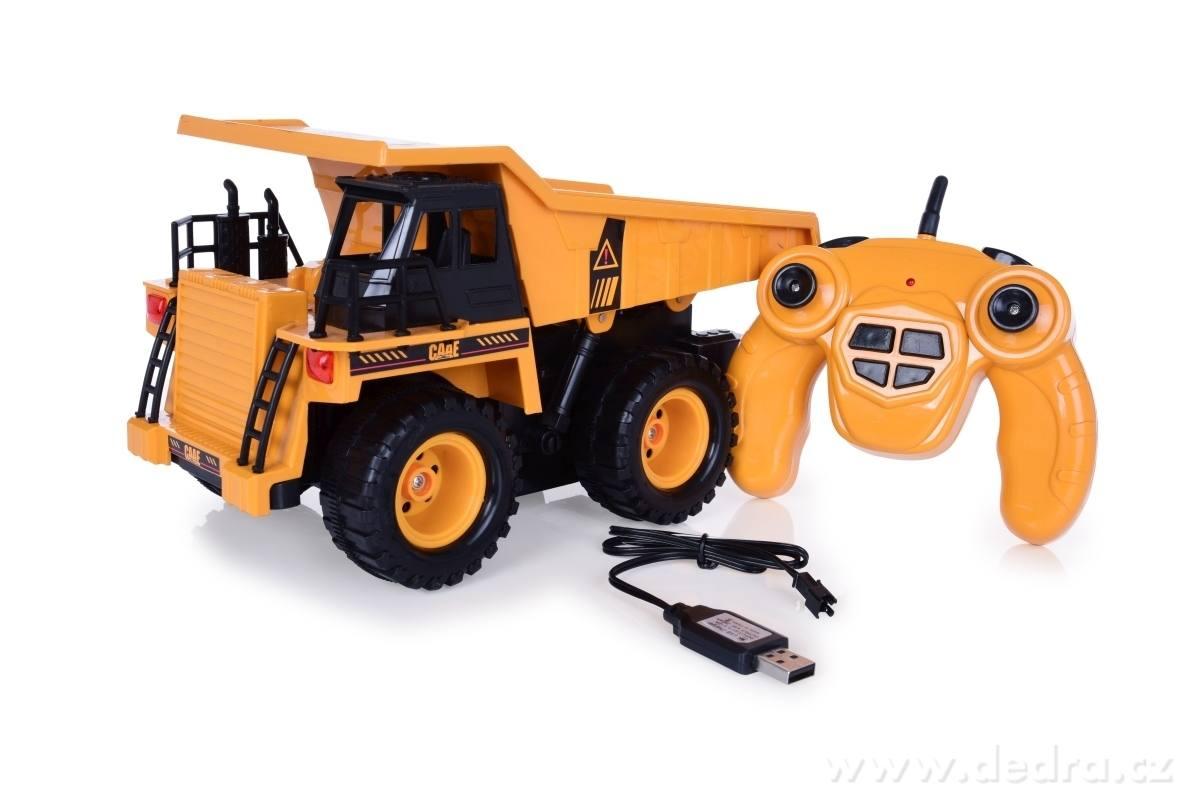 Dedra Dobíjecí xxl nákladní auto na dálkové ovládání