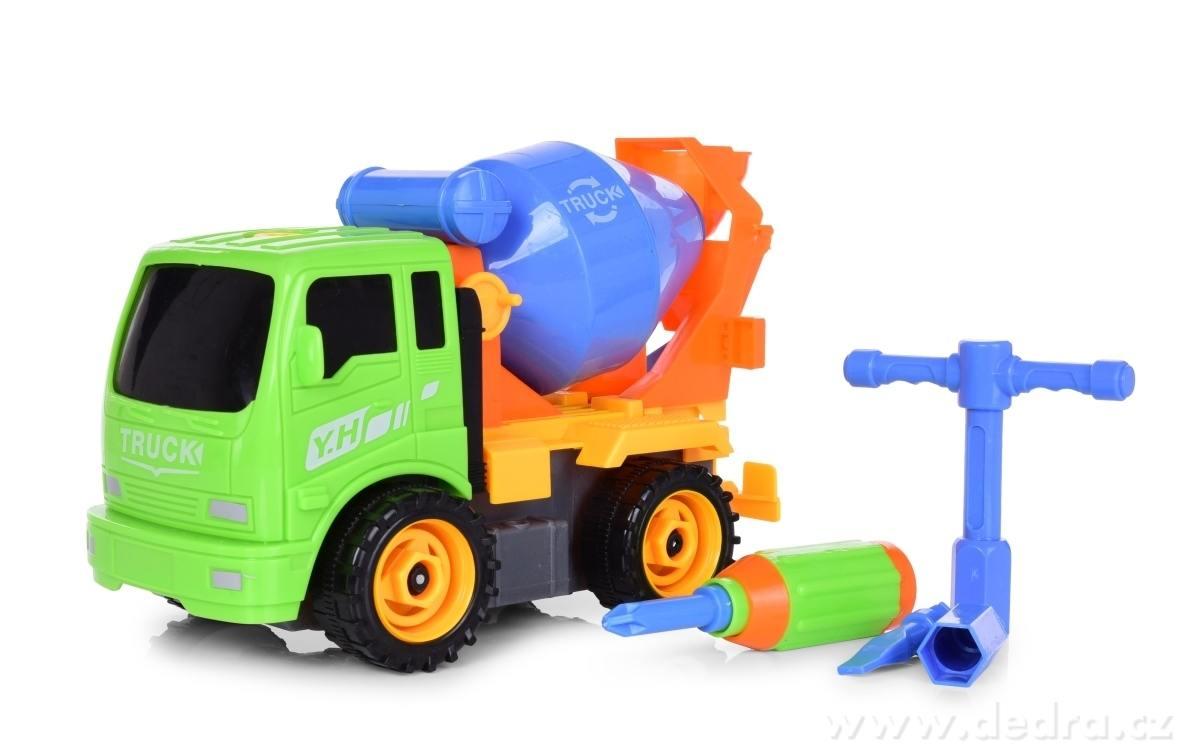 Dedra Creativ truck nákladní auto se sadou nářadí míchačka