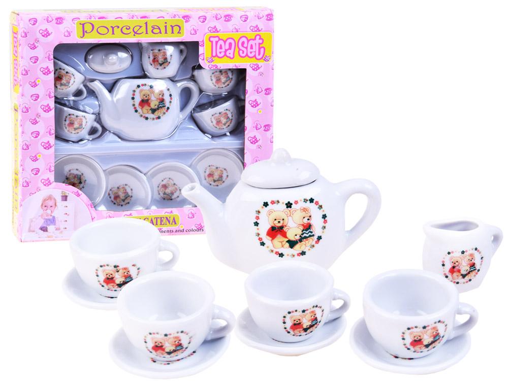 Čajový set s medvídky, nádobíčko