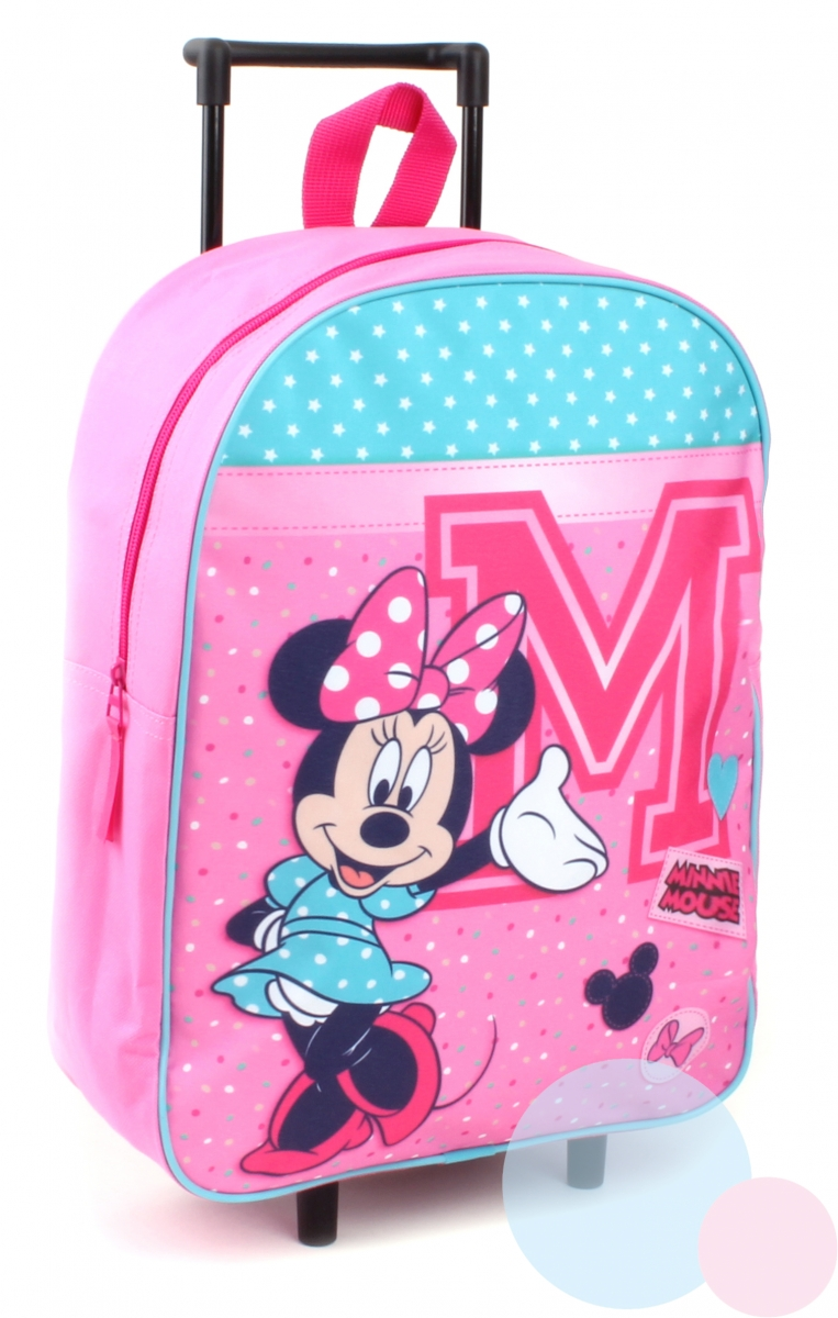 Vadobag Kufřík na kolečkách Minnie Mouse