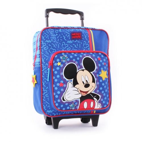 Vadobag Cestovní batoh na kolečkách Mickey Mouse