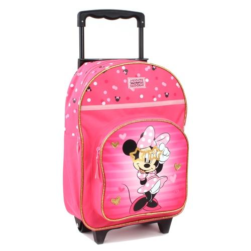 Vadobag Cestovní batoh na kolečkách Minnie Mouse