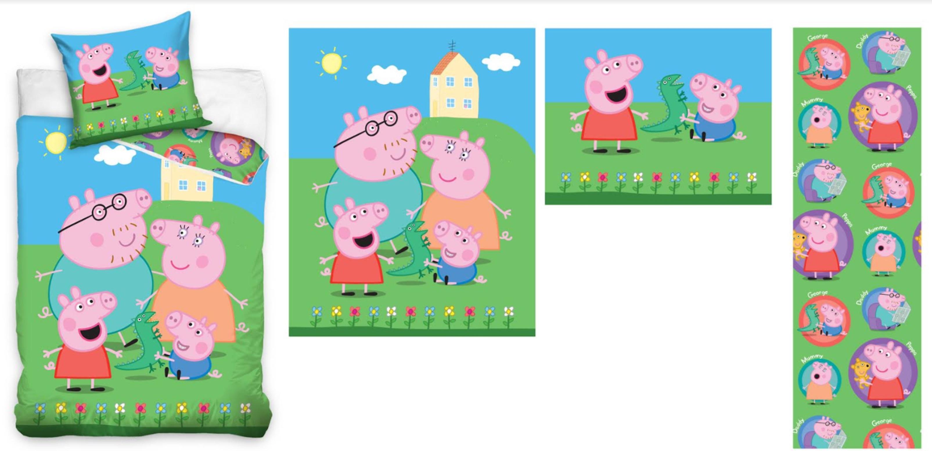 Setino bavlněné povlečení Peppa Pig, Prasátko Pepina