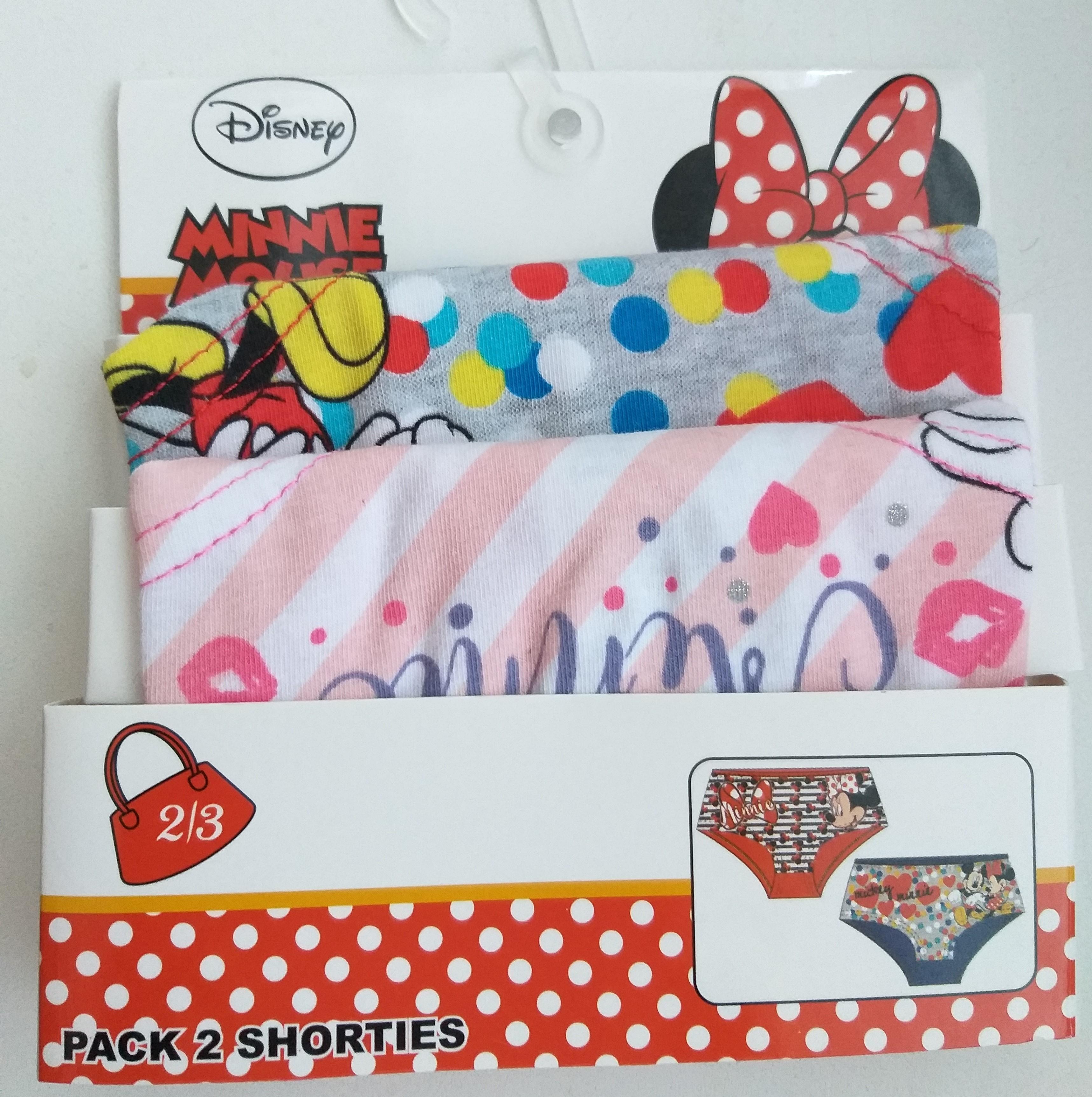 Sun City 2 ks vyšší kalhotky Minnie mouse