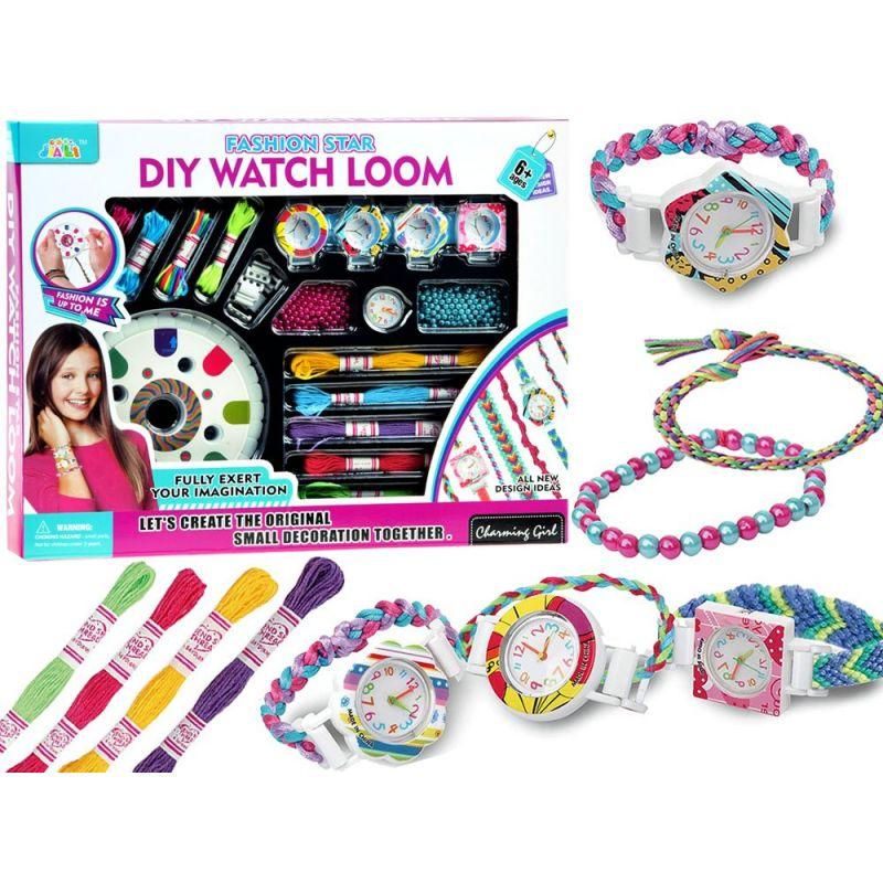 Kreativní sada na výrobu náramků a hodinek