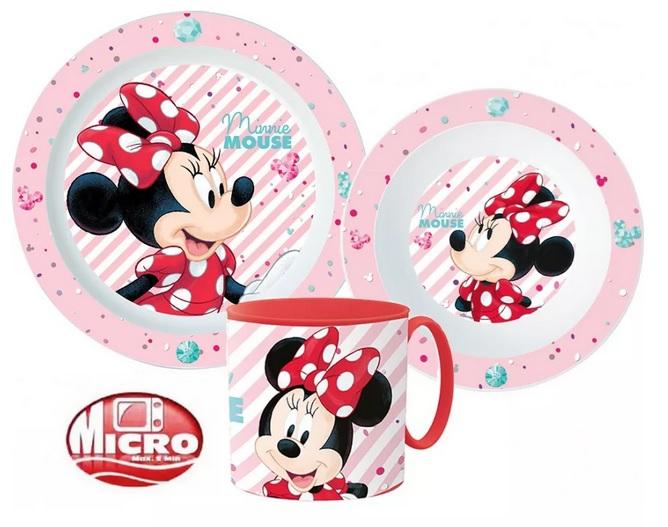 Plastová jídelní sada Minnie
