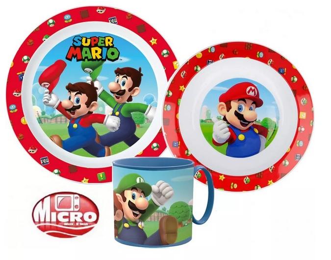 Plastová jídelní sada Mario