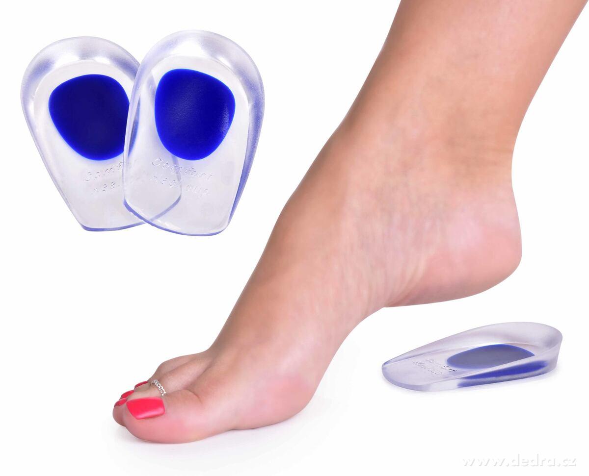 Dedra 2 ks gelová podpatěnka do bot, Anatomixx