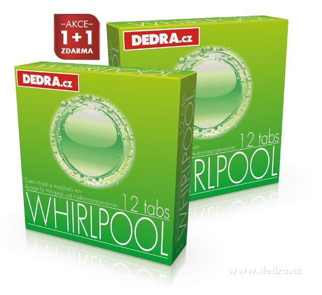 Private Spa Whirlpool čistící tablety na masážní a vířivé vany Dedra
