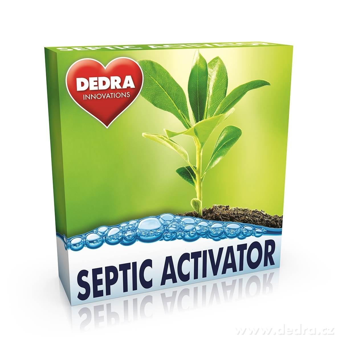 Dedra Septic activator aktivátor septiků 12 tabs