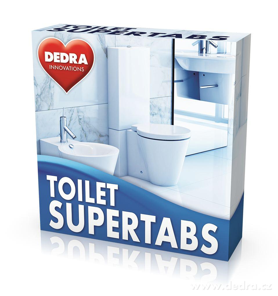 Toilet tabs 10 ks samočistící tablety do toalety Dedra