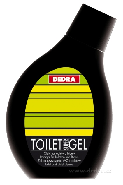 Toilet gel green apple čistič na toalety Dedra