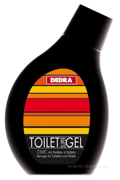 Toilet gel orchids čistič na toalety 500 ml Dedra