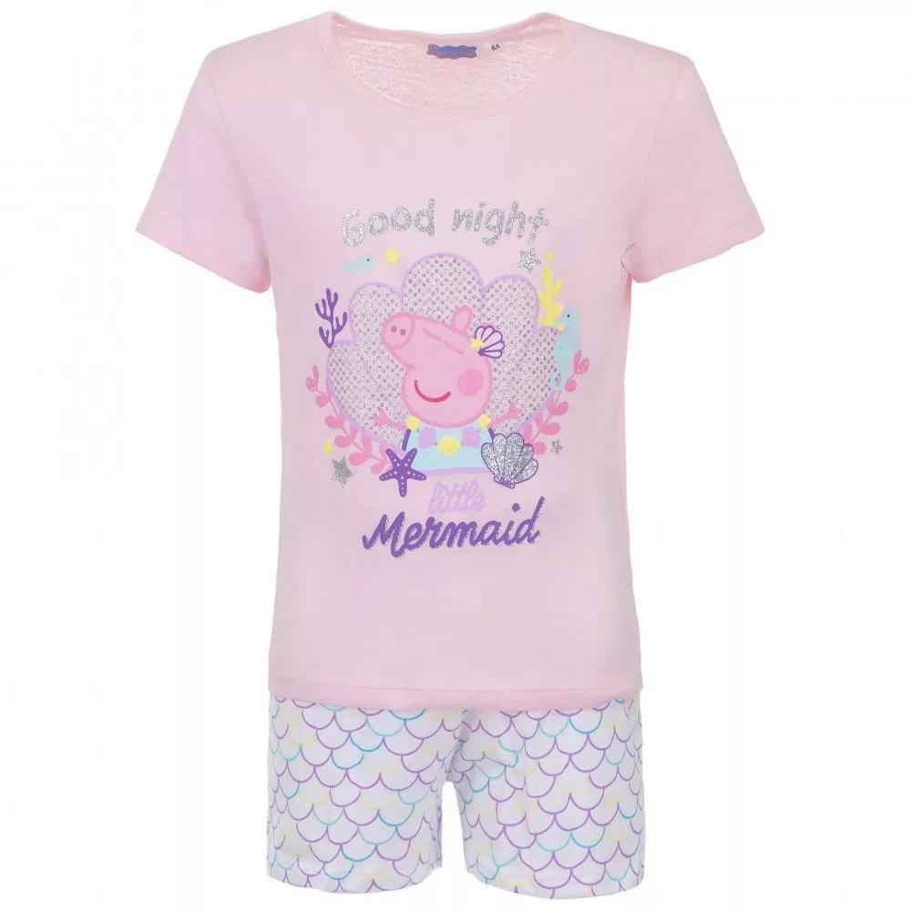 Sun city Třpytivé pyžamo Peppa Pig, Prasátko Pepina růžové