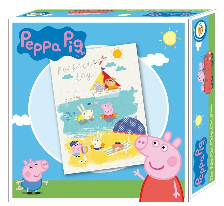 Puzzle Prasátko Pepina, Peppa pig 24 dílků