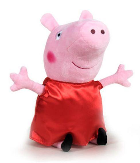 Plyšová Peppa Pig, Prasátko Pepina 28 cm