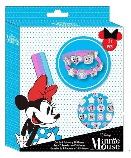 Kreativní sada na výrobu náramků Minnie blue