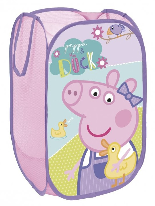 Rozkládací koš na hračky Peppa Pig, Prasátko Pepina