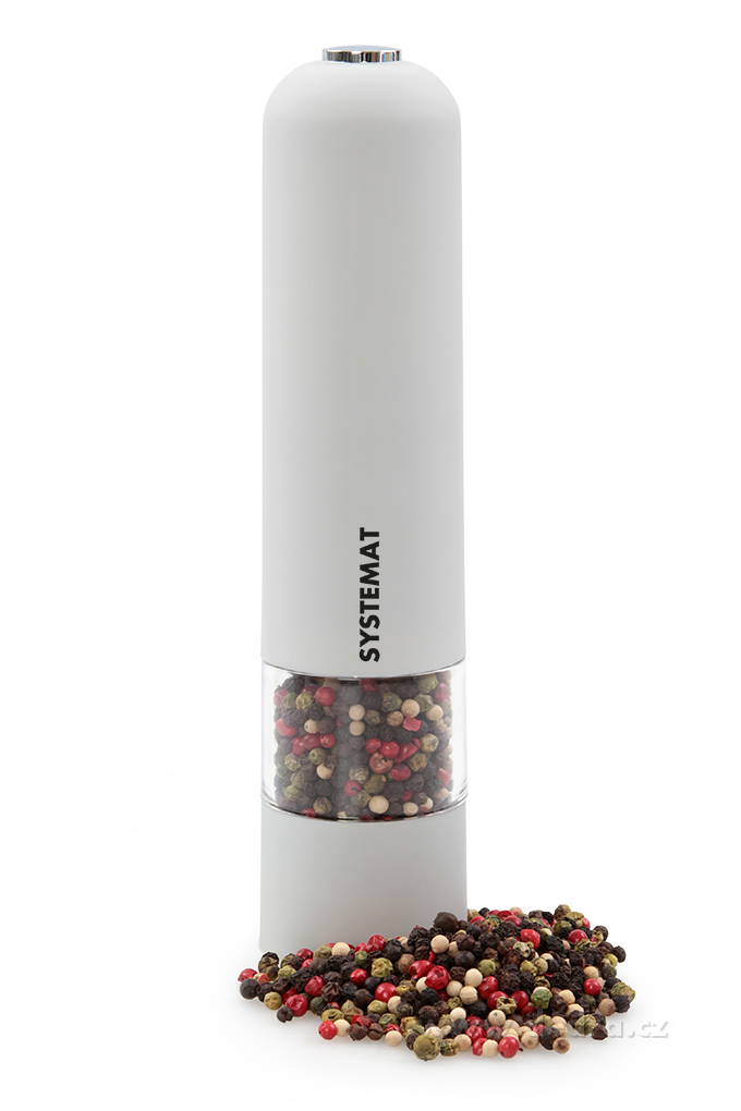 Dedra XXL el. mlýnek s LED osvětlením šedý