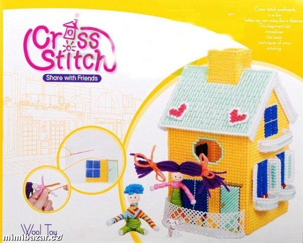 Upleť si domeček - kreativní sada pro děti