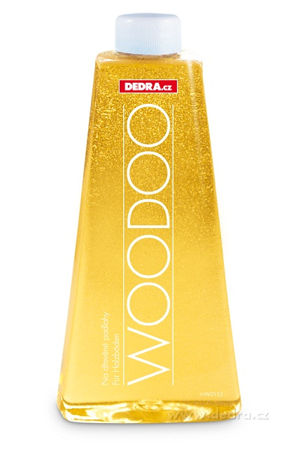 DEDRA WOODOO 2in1 500 ml čistič na dřevěné podlahy