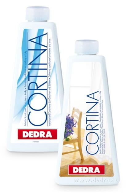 Dedra Cortina 500 ml + kondicionér 500 ml zdarma , na záclony a krajky